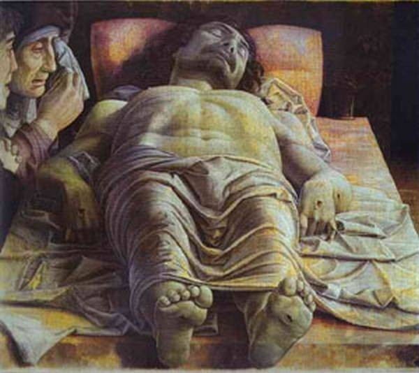 dead christ 1500 XX galleria brera milan italy